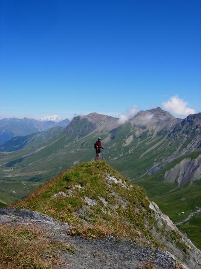 balade en moyenne montagne