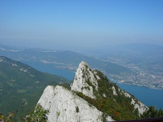 Dent du Chat, lac du Bourget