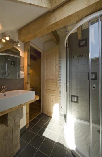 salle de bain col du Saut